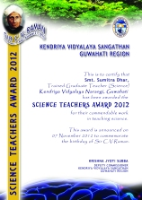 AWARD SCIENCE
