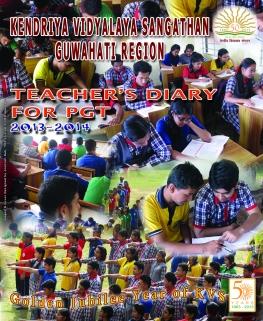KVS GUWAHATI REGION TEACHERS' DIARY 2013~2014 FOR PGT's