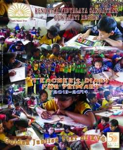 KVS GUWAHATI REGION TEACHERS' DIARY 2013~2014 FOR PRT
