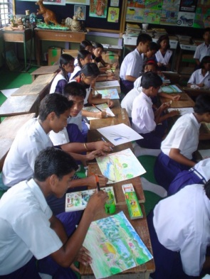 ART CLASS AT NARANGI 4