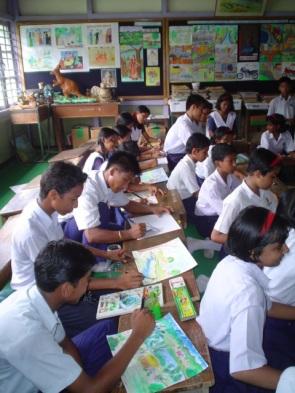 ART CLASS AT NARANGI 5