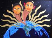 2013: Painting in Acrylic for the Golden Jubilee celebrations of KVS