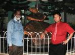 WITH Mr.K.ALUNG KHUMBA, PRINCIPAL KENDRIYA VIDYALAYA NFR MALIGAON